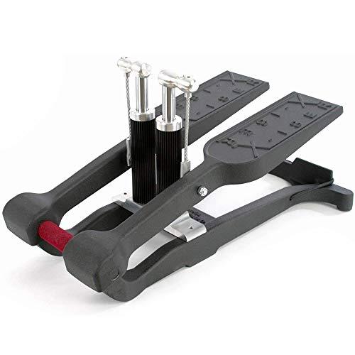 Xiser Commercial Mini Stairmaster Pro Trainer portable stepper エクサー プロ ステッパー 踏み台昇降 プロフェッショナル プロ版 5年保証 ONOオリジナル 日本語説明書付き ブラック