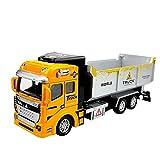 Gadpiparty Camión de Construcción de Juguete de Transporte de Vehículos de Juguete Camión de Volteo de Ingeniería de Vehículos de Juguete para Niños Pequeños Y Niñas