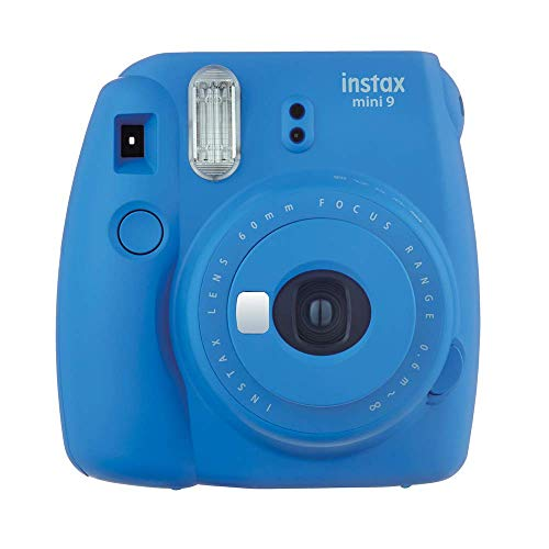 Fujifilm Instax Mini 9 Cobalt Blue Fotocamera Istantanea per Foto...