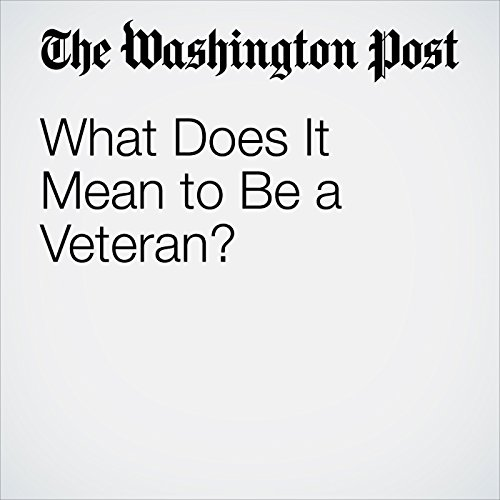 What Does It Mean to Be a Veteran? cover art