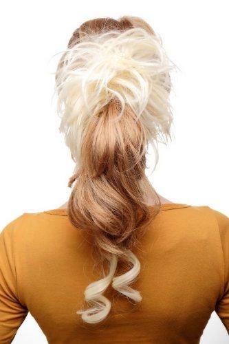 WIG ME UP - Postiche avec peigne, volumineux, boucles tombantes, baroque, blond clair, YZF-3072HT-613