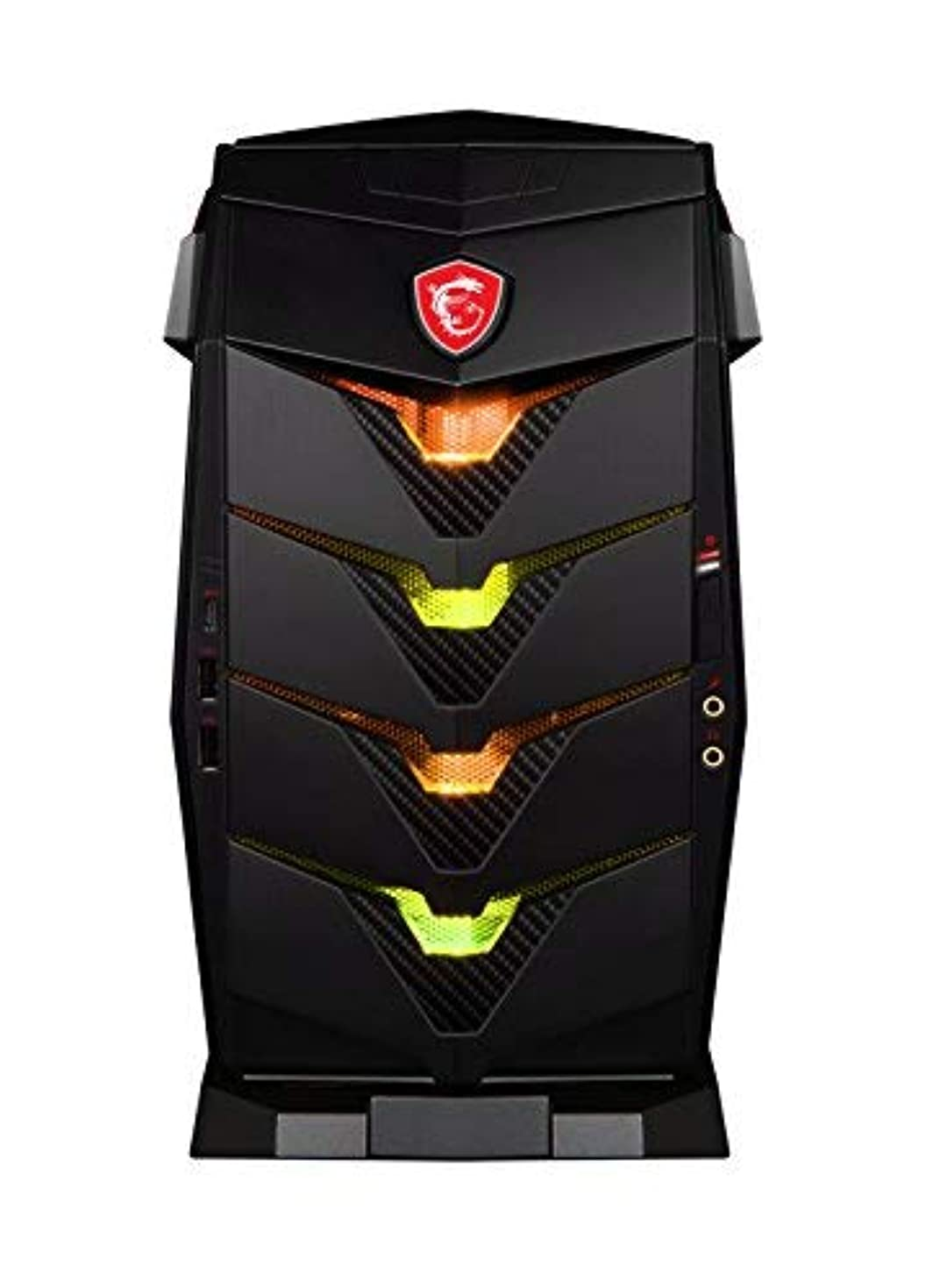 肉腫全部好奇心盛MSI Aegis 3 Plus 8th Aegis 3 Plus 8RD-224US Intel Core i7 (8th Gen) i7-8700 16GB DDR4 SDRAM 2TB HDD 256GB SSD VR Ready Gaming Desktop Computer [並行輸入品]