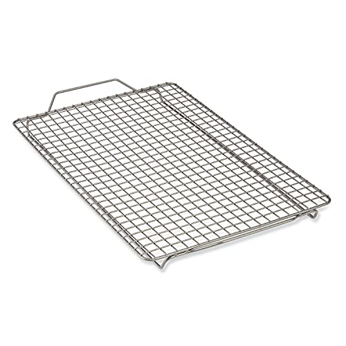All-Clad Pro-Release Nonstick Bakeware Cooling & Baking Rack, 12 x 17 inch, Gray