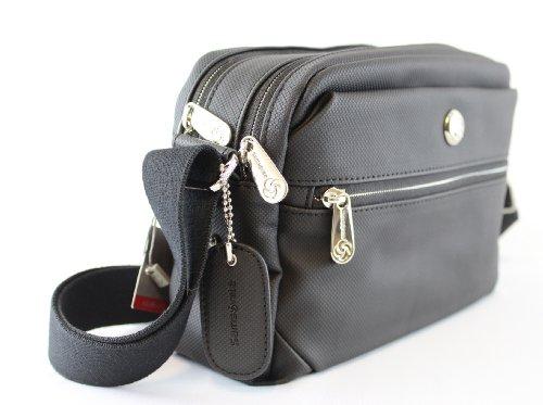 Samsonite 50786 - Borsa a tracolla Park Ii Squared Shoulder Bag S 0,01 litri, colore: Nero