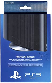 Official Sony Playstation 3 Vertical Stand for Super Slim PS3 Consoles  For Cech-4000 Series