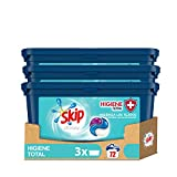 Skip Ultimate Detergente Capsulas 3en1 Higiene Total 22+2 lavados