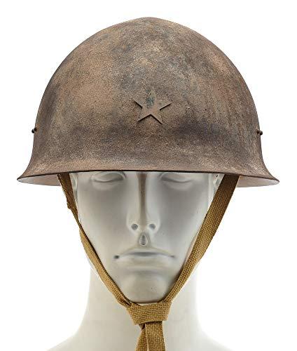 World War Supply WW2 Japanese Army Steel Helmet Hand Aged