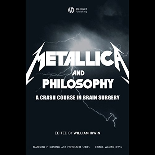 Metallica and Philosophy audiobook cover art