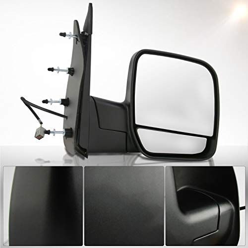 Make Auto Parts Manufacturing Passenger Side Textured Black Power Operated...