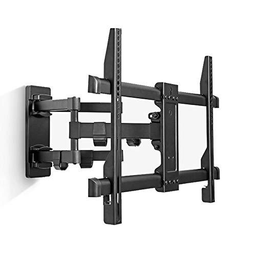 HnF Soporte de Montaje Pared TV Movimiento Completo, Brazos articulados Dobles Que giran y se inclinan para la mayoría televisores de 40-70 Pulgadas, soporta hasta 132 Libras, MAX VESA 600x400mm