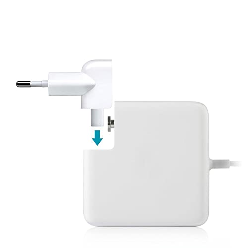 HOUSE OF QUIRK Plug Adapter Duck Head for Power Adapters of Apple Macbook, Powerbook, Air, iPod, iPhone, iPad, iBook