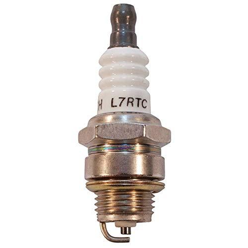 New Stens Torch Spark Plug 131-023 Compatible with Champion RCJ6Y, RCJ7Y, NGK BPMR7A, Torch L7RTC , Black