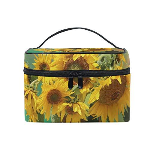 Sunflower Trousse de Toilette de Voyage pour Femme et Fille