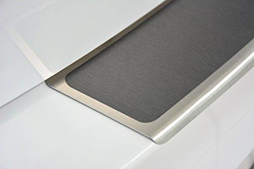 WGS Ladekantenschutz Stoßstangenschutz Lackschutz mit ABKANTUNG mit Titan auf AluNox® (1325-501)