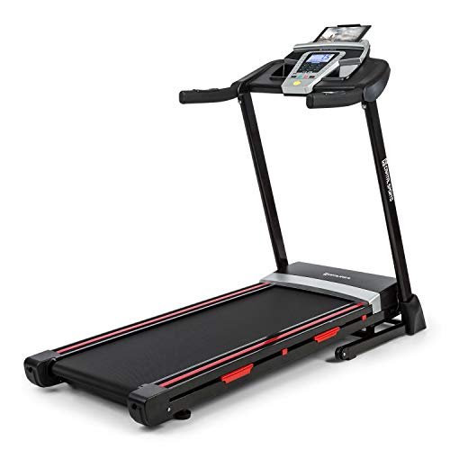 CAPITAL SPORTS Pacemaker F80 Treadmill - LCD Display, 3 HP Motor Power,...