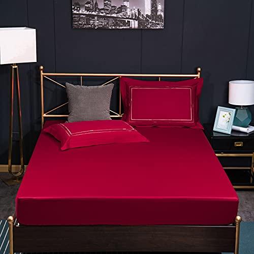 BOLO Sábanas de cama supersuaves y resistentes a la decoloración, 150 x 200 cm + 30 cm