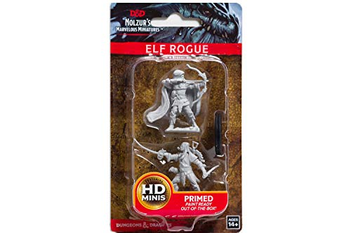 D&D Nolzurs Marvelous Unpainted Miniatures: Wave 7: Elf Male Rogue