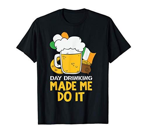 Los fines de semana son para beber cerveza Día de San Patric Camiseta