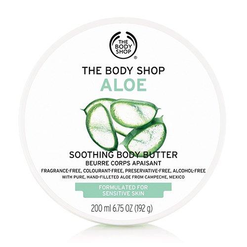 THE BODY SHOP ザ・ボディショップ ボディバター AL(アロエ) 200ml【正規品】