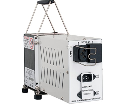 Hydrofarm SGO600S Lite Plant Germination, 600-watt Sg 600W Hps Ballast, 120/240V, Convertible, White