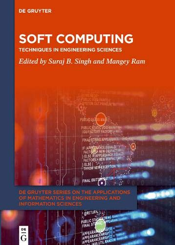 Soft Computing: Techniques in Engineering Sciences