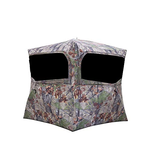 Barronett Grounder 350 Backwoods Camo Lightweight Pop Up Ground Hunting Blind
