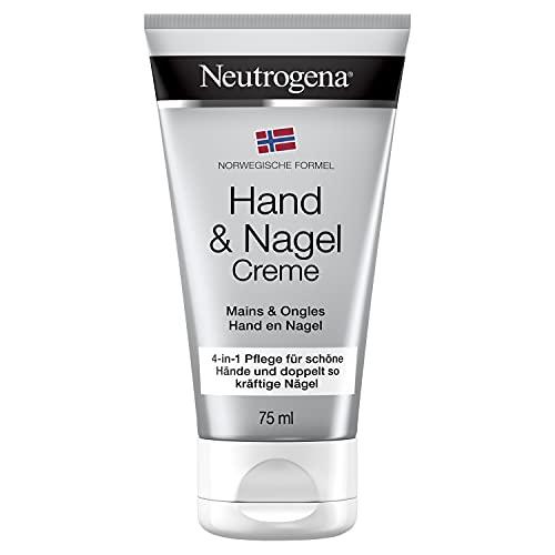 Neutrogena Norwegische Formel Handcreme, 4-in-1 Hand- und Nagelpflege, mit Panthenol, 75ml