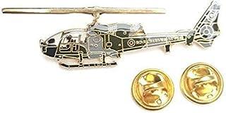 Gazelle Royal Marine Elicottero Vista Laterale Distintivo Spilla Smaltata