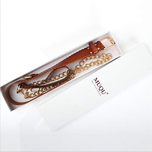 CSHClock Verstellbares Halsband aus Leder mit Trainingsketten für Paare, Romantische Geschenke, T-Shirt, Neuheit, Spielausrüstung, Sonnenbrille, Handtasche
