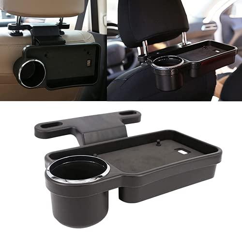 Autositz Getränk Becherhalter, Folding Design Auto Wasser Getränkehalter Multifunktion Auto Hintere Reihe Getränkehalter für Mobiltelefon Getränke Kaffee Essen