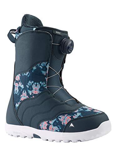 Burton Damen Mint Boa Snowboard Boot, Midnite Blue/Multi, 7.0