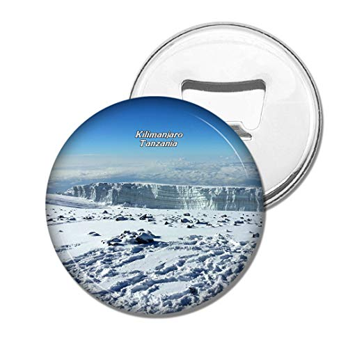 Weekino Tansania Kilimanjaro Mount Schnee Bier Flaschenöffner Kühlschrank Magnet Metall Souvenir Reise Gift