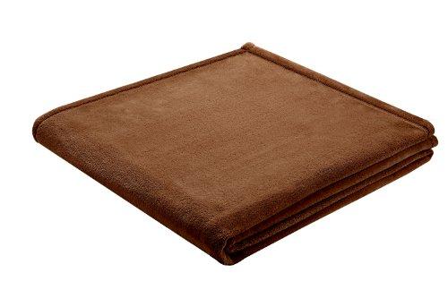 bocasa by biederlack 144227 biederlackborbo 37637 King-Fleece braun circa 150 x 200 cm 100% Polyester