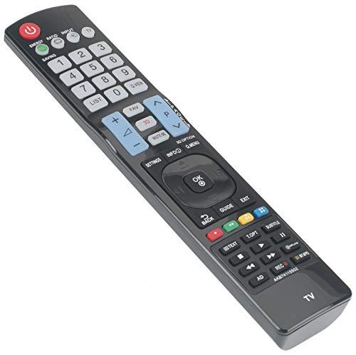 ALLIMITY AKB74115502 Fernbedienung Ersetzt für LG Smart TV 42LS3450 42LS5600 42LE5800 42LE5810 42LE7300 47LA640V 47LA6608 47LA660S 47LW451C 47LW451CZB 50PC52ZD 50PC55 50PC55AEU 50PC56