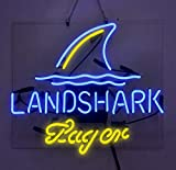 Landshark Lager Beer Bar Pub Store Party Room Wall Windows Display Neon Signs 19x15