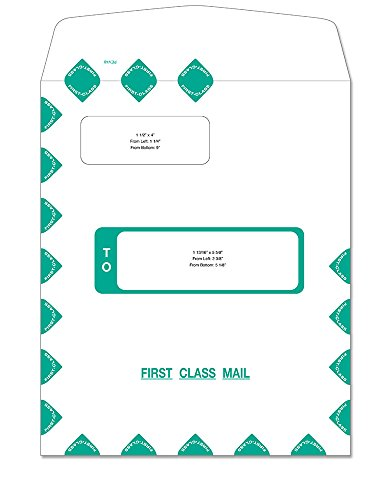 ComplyRight First Class Self Seal Double Window Envelope (PEV48AMZ)