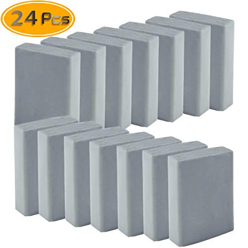 Sntieecr 4 Pack Kneaded Erasers Large Size Grey Drawing Art Kneaded Rubber Erasers
