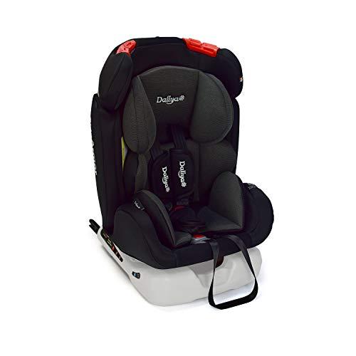 Daliya Sitorino 0-36 KG 0-12 Jahre Autositz Kindersitz Gruppe 0+1+2+3 Schwarz mit Isofix Fix und Top Tether 5 Punkt Sicherheitsgurt ECE-R44 / 04