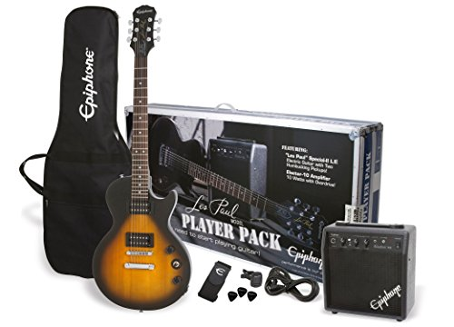 Epiphone Les Paul Player Pack Vintage Sunburst Kit Guitarra Electrica