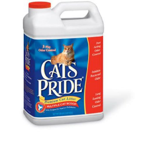 Cat's Pride Complete Multi-Cat Scoopable Litter Jug, 20-Pound