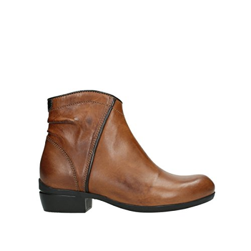Wolky Comfort Stiefel Winchester - 30430 Cognac Leder - 41