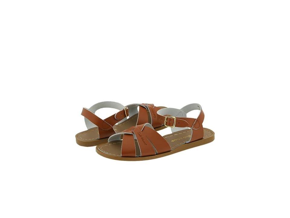 Salt Water Sandal by Hoy Shoes The Original Sandal (Big Kid/Adult) (Tan) Girls Shoes