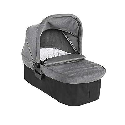 Baby Jogger 2111441 - Cochecito de bebé con capazo plegable para City Elite 2 Slate, color gris, 5,99 kg