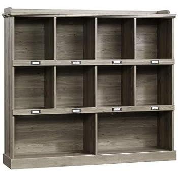 Barrister Lane Collection 3-Shelf Horizontal Bookcase in Salt Oak