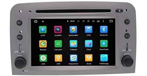 Sunshine Fly - Reproductor de Radio y DVD para Coche (Android 8.0 Quad-Core 1,6 GHz, para Fiat Alfa Romeo 147 GT, con navegación GPS, Bluetooth, USB, SD, FM, Am, estéreo, Wi-Fi)