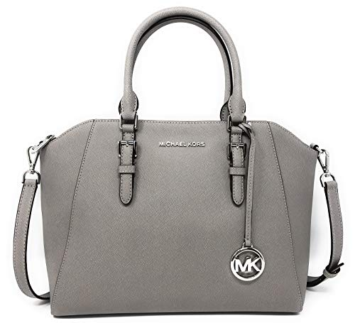 Michael Kors Large Ciara Top Zip Womens Saffiano Leather Satchel