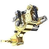 Dragonhawk EX-2 Rotary Tattoo Machine Brass Frame Steel Spring Adjustable Stroke Length Tattoo Supply