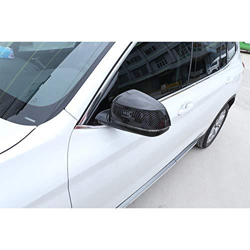 JJKCEA Espejo retrovisor del Coche Que reacondiciona el Caso de la cáscara del Espejo retrovisor del ABS, para BMW X3 G01 2018-2020