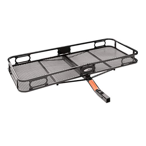 "Pro Series 63152 Rambler Hitch Cargo Carrier for 2"" Receivers, Black"