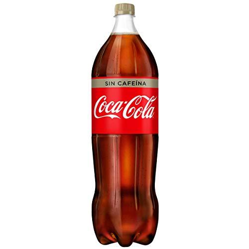 Coca-Cola - Sin Cafeina, Refresco con gas de cola, 2 l (Pack de 6), Botella de plástico